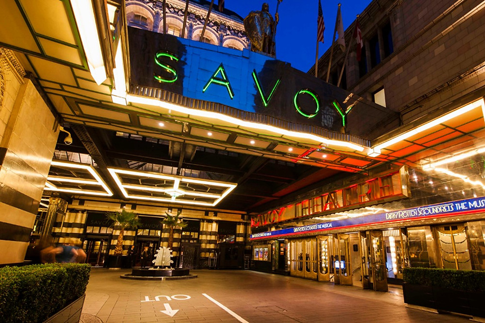 On Tour Events provides stage, screen & audio visual services at the Savoy in London