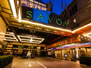 On Tour Events Provides Stage, LED Screen & Audio Visual Services For Jewish Auction @ Savoy London