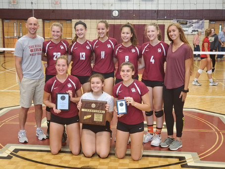 Lady Wildcats win District 4-AAA Volleyball Tournament