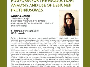 PhD public presentation by Martina Ugrinic