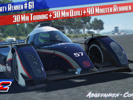 rF2-CR 61 - Live | Metalmoro AJR (Reiza Pack) @Hidden Valley Raceway