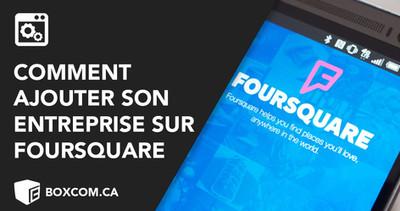 Comment référencer son site web avec Foursquare?