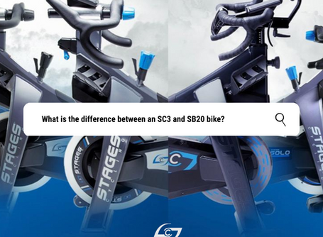 WHAT'S THE DIFFERENCE? Let's compare the SC3 and SB20 bikes