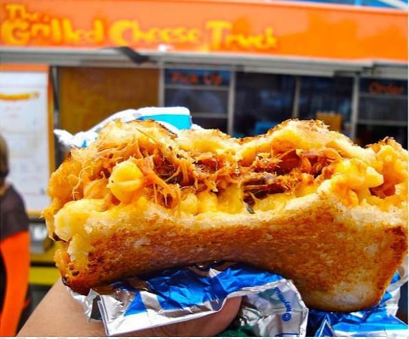Food truck breakfast menu ideas - grilled cheese