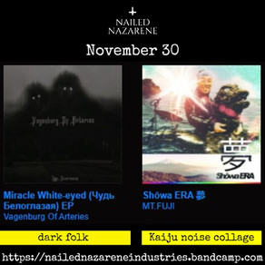 Releases of the Day: Nov 30, 2020