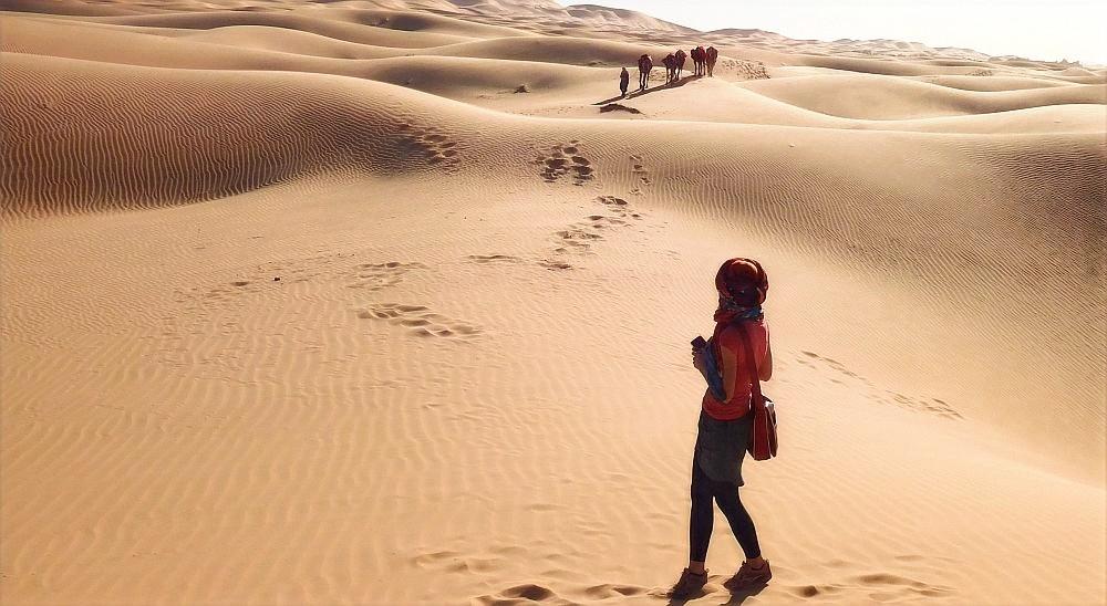 Uprostřed pouště