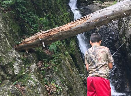 Dunn Falls... on the Appalachian Trail