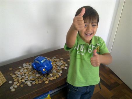 Aprendi o valor da conquista com meu filho