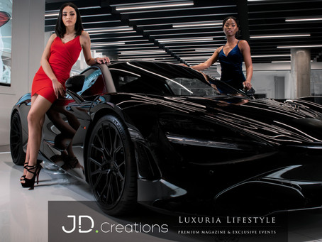 LUXURIA LIFESTYLE MAGAZINE  PARTNERS WITH JD CREATIONS TO LAUNCH NEW CONTENT CREATION DIVISION