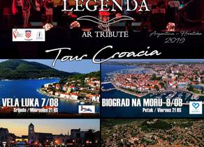 Legenda AR Tribute - Tour Croacia