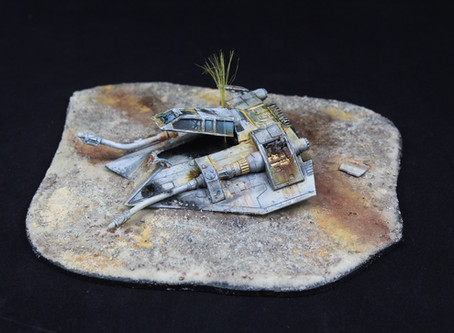 Custom Airspeeder Crash Landing