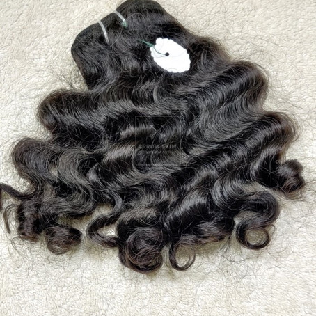 100% Curly Human Hair Weave