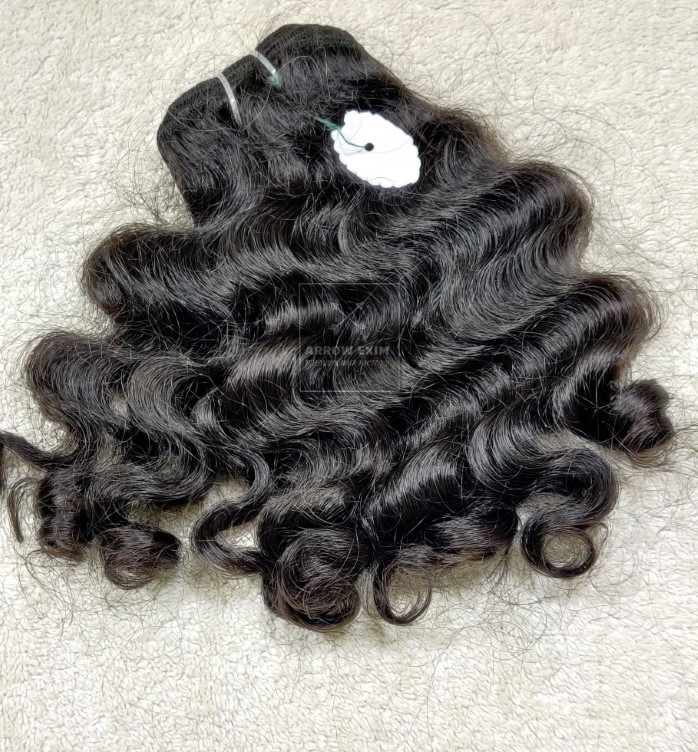 100% Curly Human Hair Weave