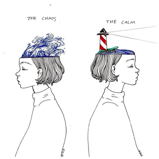Como manter a calma