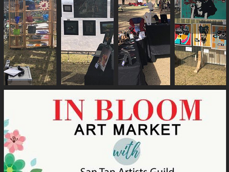 In Bloom Art Market at the Olive Mill
