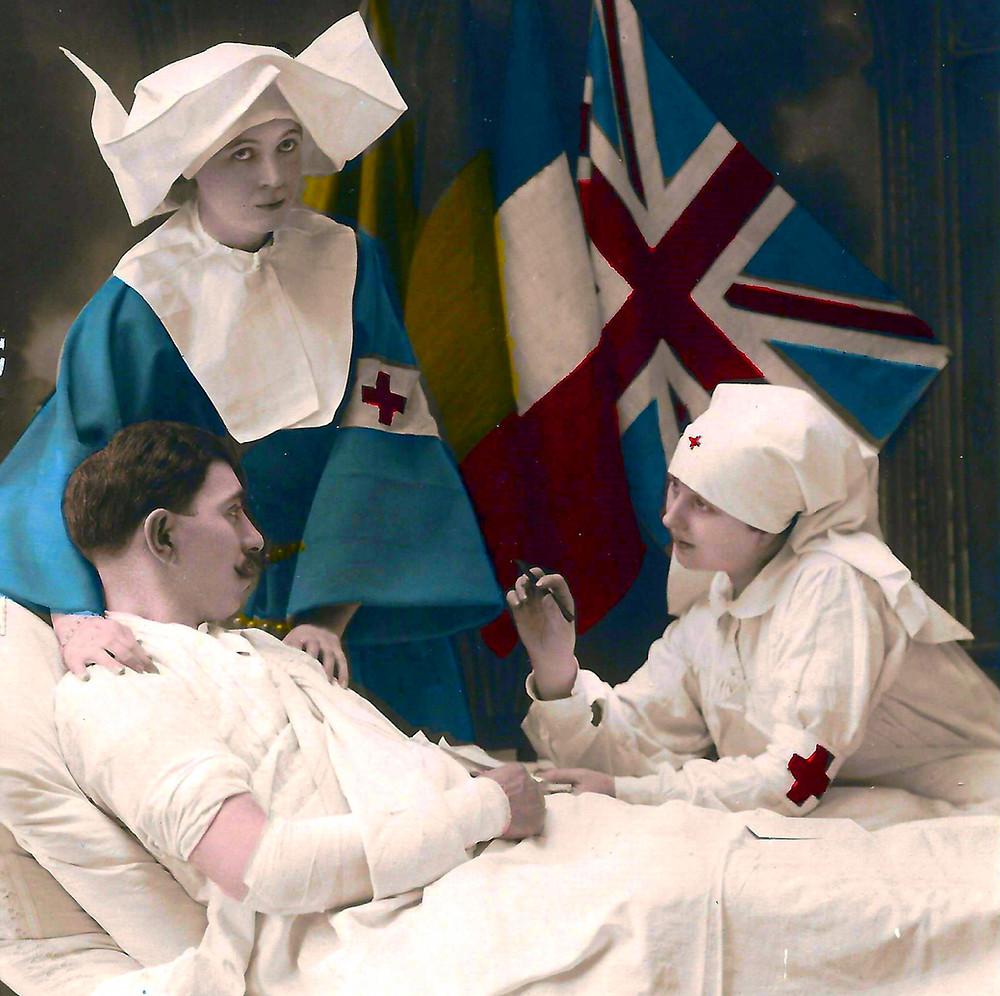 Paleysin met en scène des rescapés de la Grande Guerre.