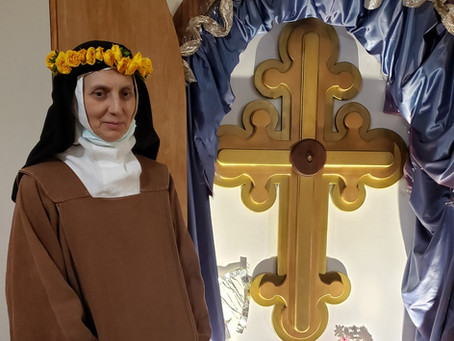 Jubilee of Sister Miriam Victoria of the Cross