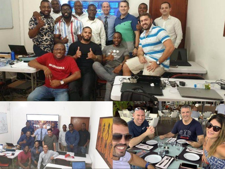 Expanding our training at Africa