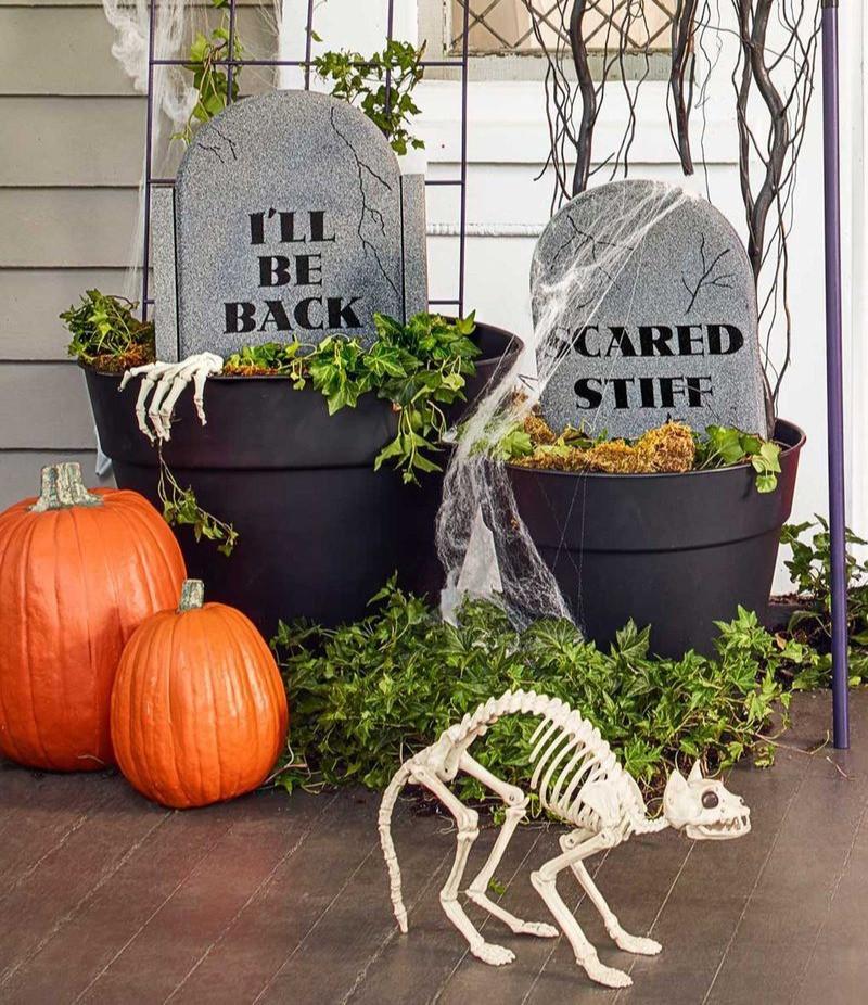 Halloween DIY gravestone