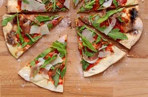 Pizza pieces