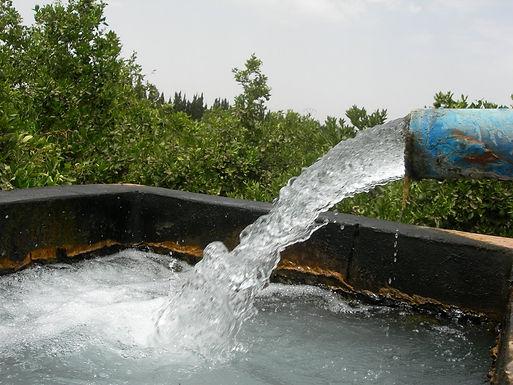 L'eau, un bien si précieux...