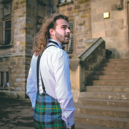 Introducing The Gunn & Grant Fishtail Back Tartan Trews