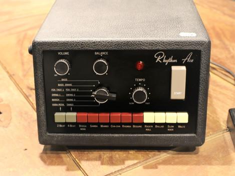 Underbar Ace Tone FR-6 analog trummaskin från 1975, 5999:- Ace namnändrades sedan till Roland.