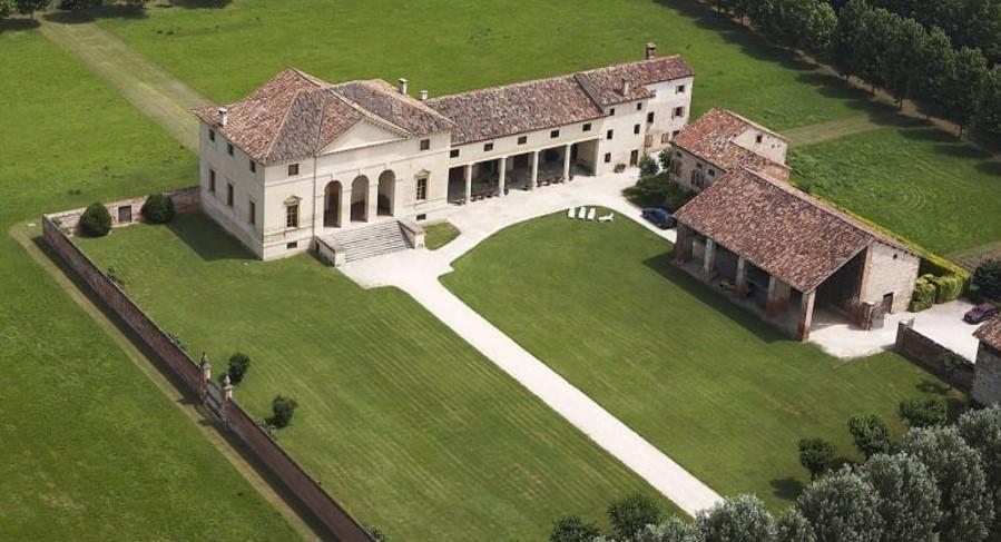 Villa Saraceno, Palladian arhitecture, Andrea palladio, gary paul, classical architecture, italian villa, classic farm house