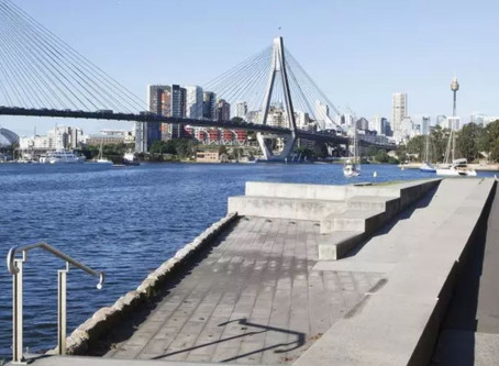 Sydney: Glebe Foreshore Walk