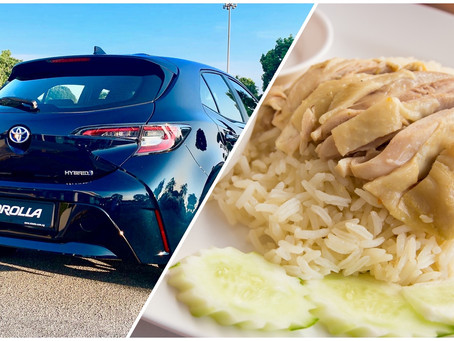How the Toyota Corolla is like... Chicken Rice?