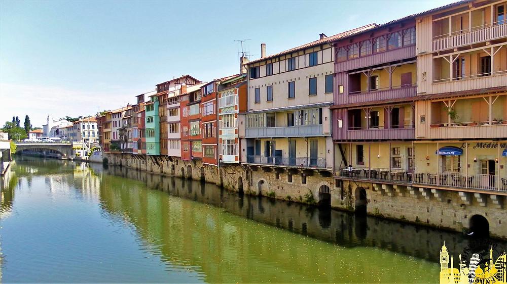 Río Agout. Castres (Francia)
