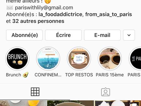 5 questions à Lily de l'Instagram @paris_with_lily