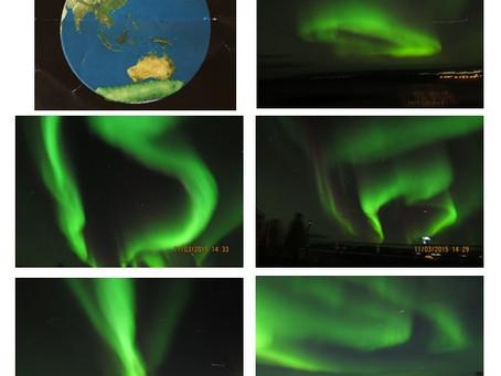 Elusive Northern Light. Iceland--2