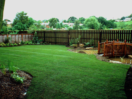 Lawns, Borders and Low Maintenance.
