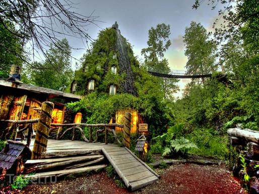 Montaña Mágica Lodge Huilo Huilo, Chili.