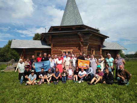 Волонтерский лагерь в Козлово