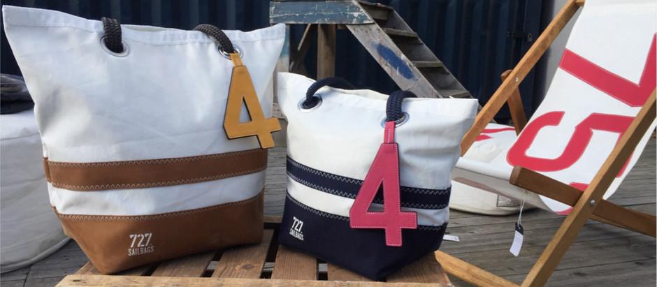 727 SAILBAGS: les sacs créés à partir des voiles de bateaux.