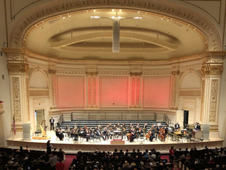 Perpetual Light concert at Carnegie Hall