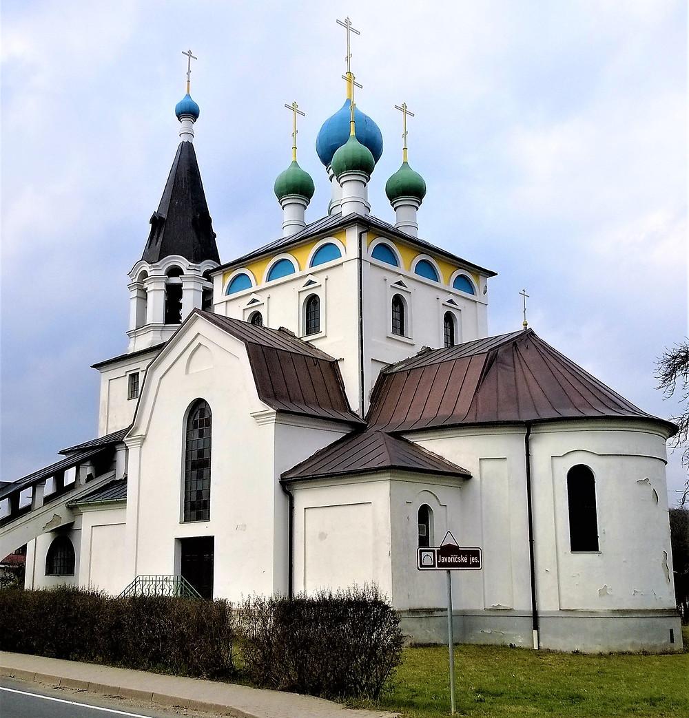 Kostel svatého Cyrila a Metoděje v Chudobíně