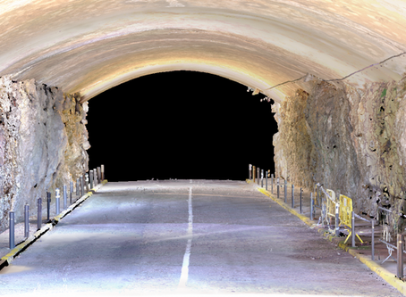 Digitalización 3D de túnel zona de Garraf