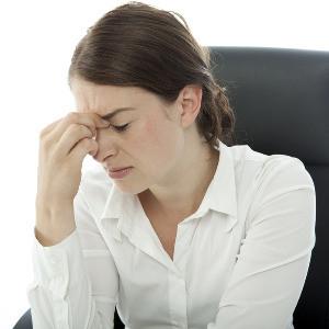 Kopfschmerzen dank schlechter Luft