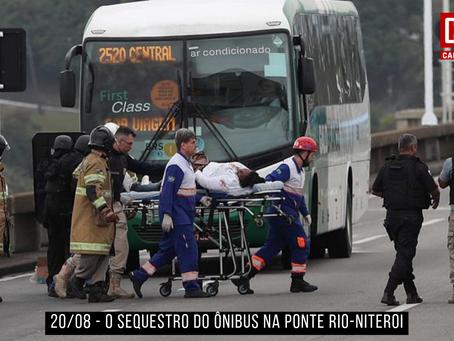 O sequestro do ônibus 2520 no Rio de Janeiro
