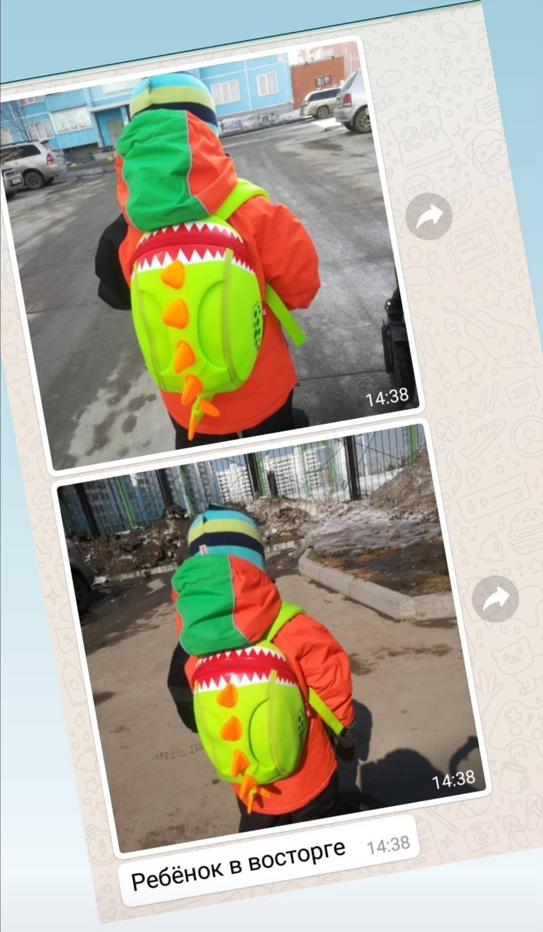 Отзыв Nohoo Динозавр
