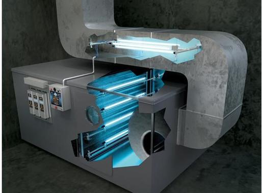 UV HVAC Installed