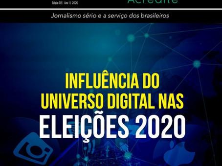 Influência do universo digital nas Eleições 2020
