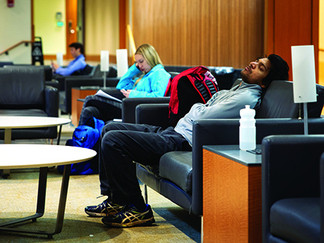 Need A Nap? Try These Top Places To Sleep On Campus