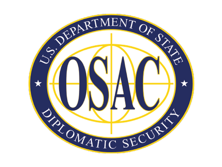 Galardonado con el 2019 OSAC Latin America Regional Country Council Award