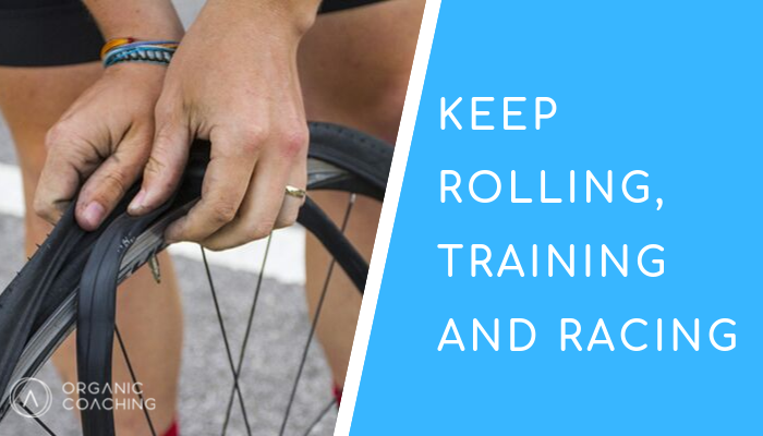 Keep rolling, training and racing