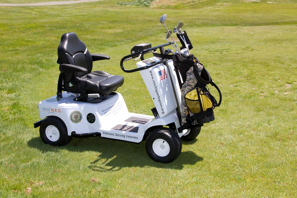 Single Rider Golf Cart