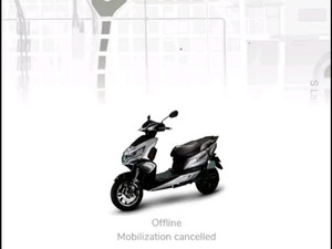 Eco app for Okinawa connected scooters range